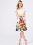 Cenia New York – Floral Print A-Line Dress, Multi, hi-res