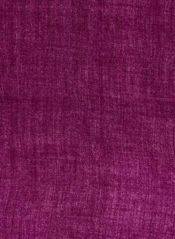 Twisted Fringe Scarf, Pink, hi-res