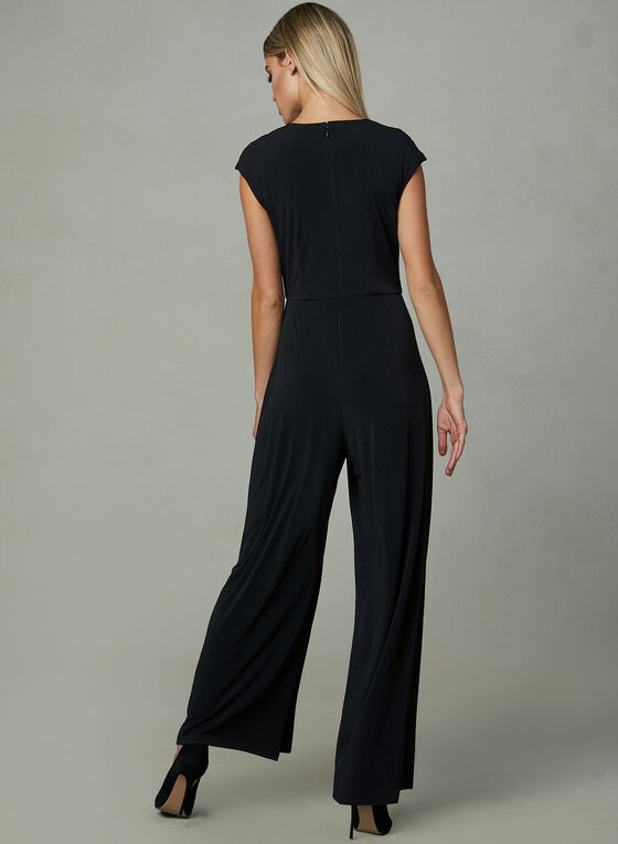 Maggy London - Wide Leg Jumpsuit, Black, hi-res