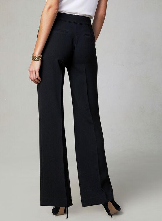 Pantalon Soho à jambe large, Noir, hi-res