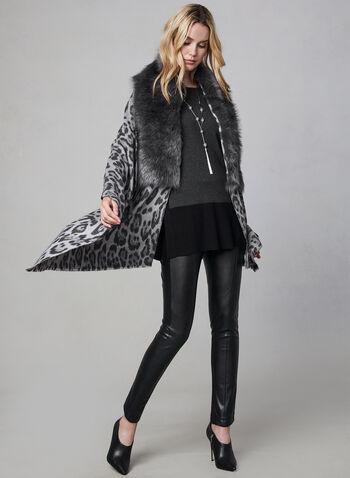 Animal Print Wrap, Grey, hi-res,  wrap, animal print, faux fur, fall 2019, winter 2019