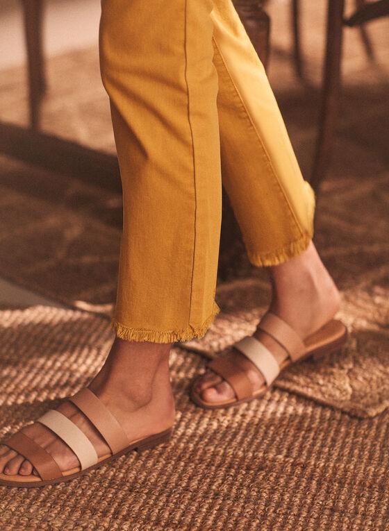 Slim Leg Coloured Jeans, Yellow