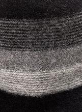 Chapeau cloche en laine mélangée, Noir, hi-res