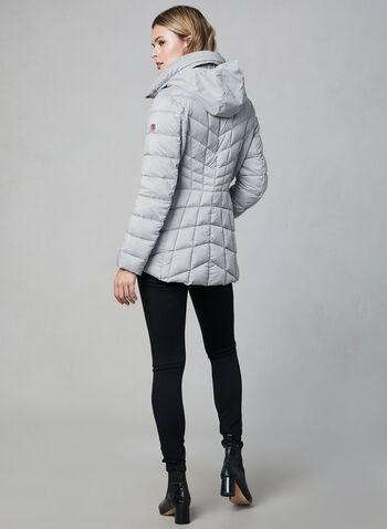 Bernardo - Manteau matelassé compressible , Gris,  manteau d'hiver