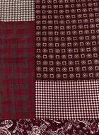 Patchwork Print Oblong Scarf , Pink, hi-res