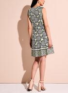Maggy London - Graphic Floral Print Dress, Multi, hi-res