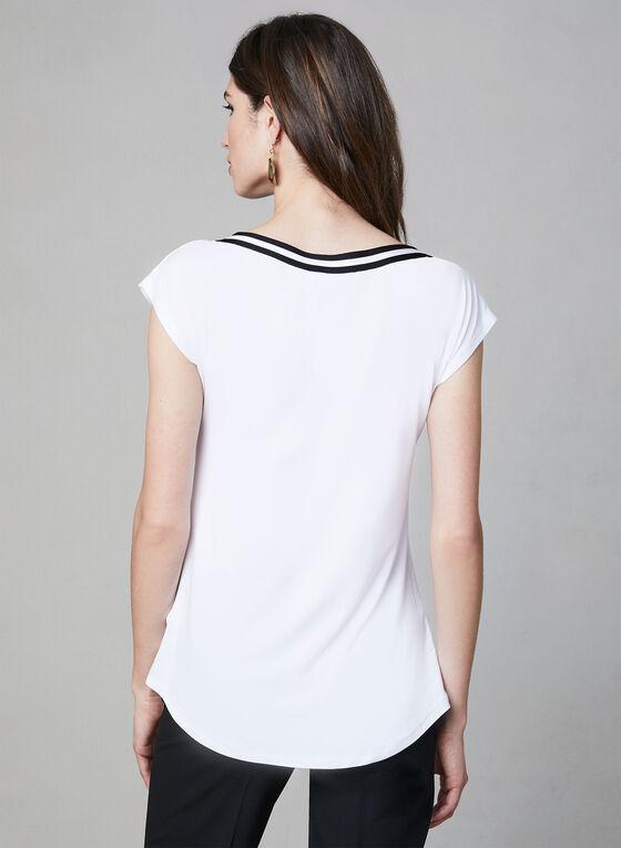 Bamboo Fabric Top, White