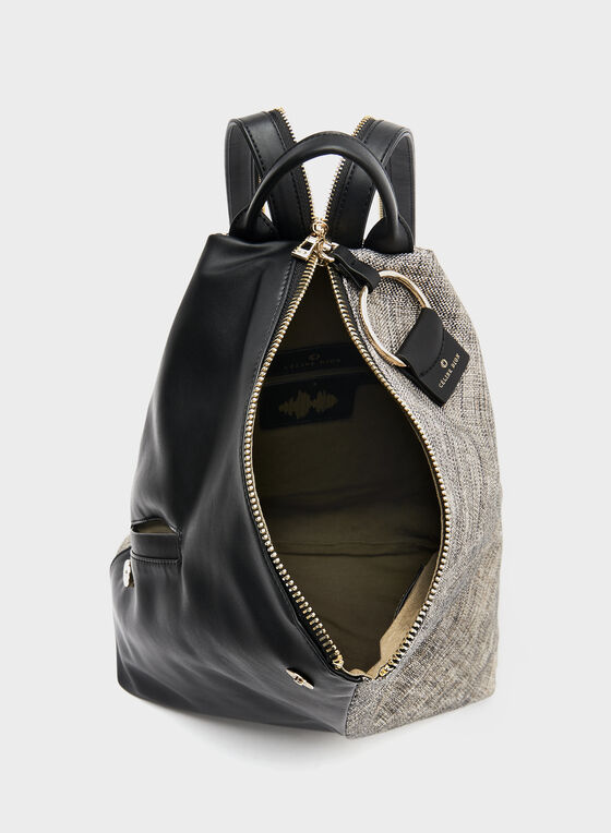 Céline Dion - Canvas Backpack, Black, hi-res