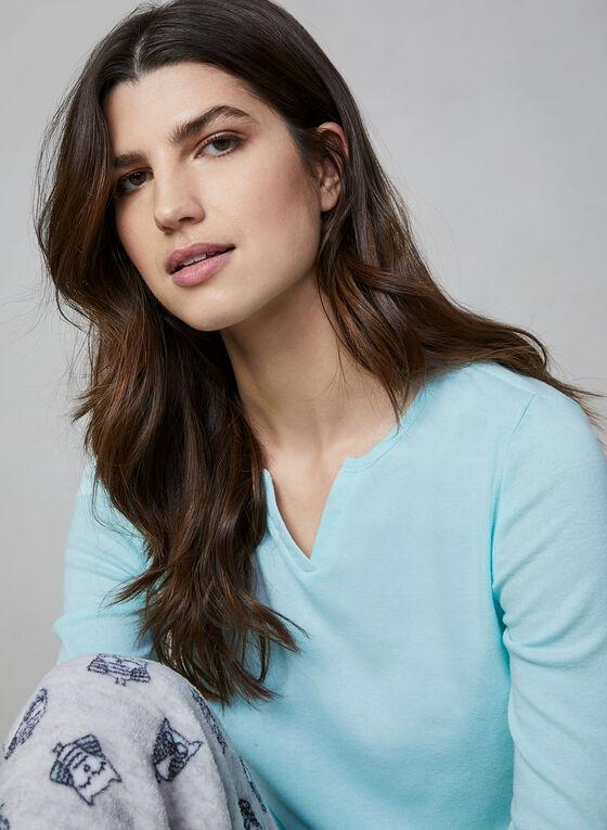 Pillow Talk - Pyjama 2 pièces avec chaussettes, Gris