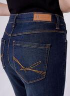 Slim Leg 5-Pocket Ankle Jeans, Blue, hi-res