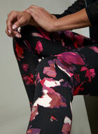 Frank Lyman - Floral Print Leggings, Black, hi-res