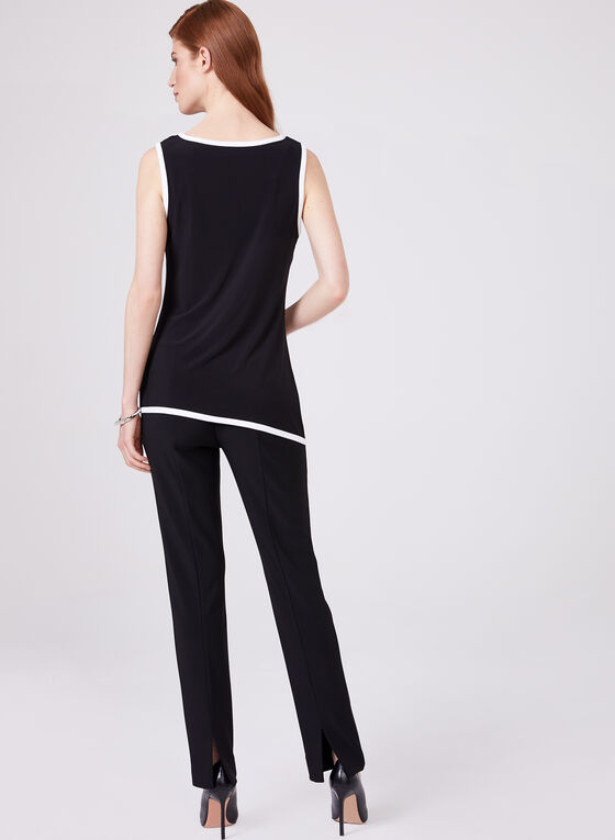 Frank Lyman - Asymmetric Sleeveless Top, Black, hi-res