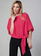 Chiffon Kimono Blouse, Pink