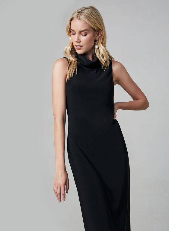 Joseph Ribkoff - Sleeveless Jersey Dress, Black