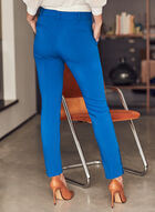 Pantalon coupe Giselle à jambe étroite, Bleu