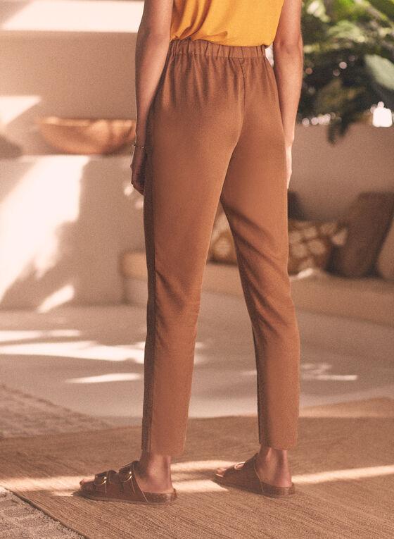 Pantalon fluide Emma , Beige