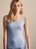 Alison Sheri - Basic Tank Top, Blue