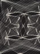 Foulard plissé à imprimé abstrait, Noir, hi-res