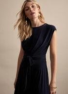 Joseph Ribkoff - Tie Waist Midi Dress, Blue