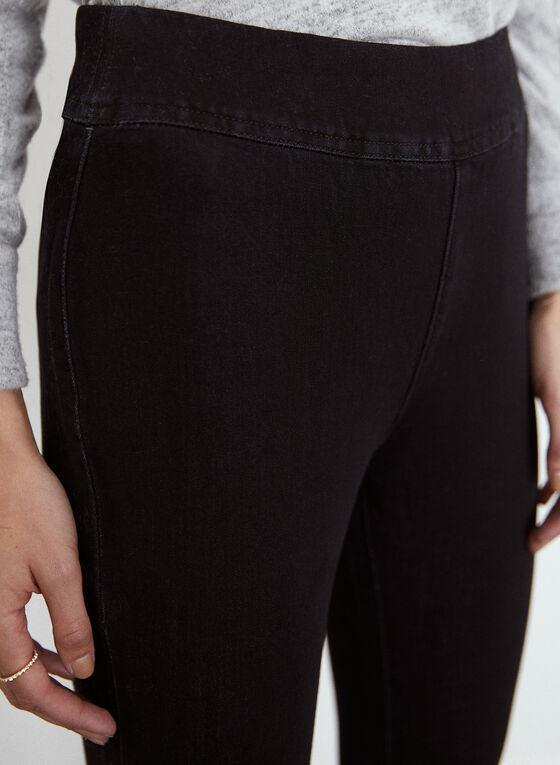 Yoga Jeans - Pull-On High Rise Denim, Black