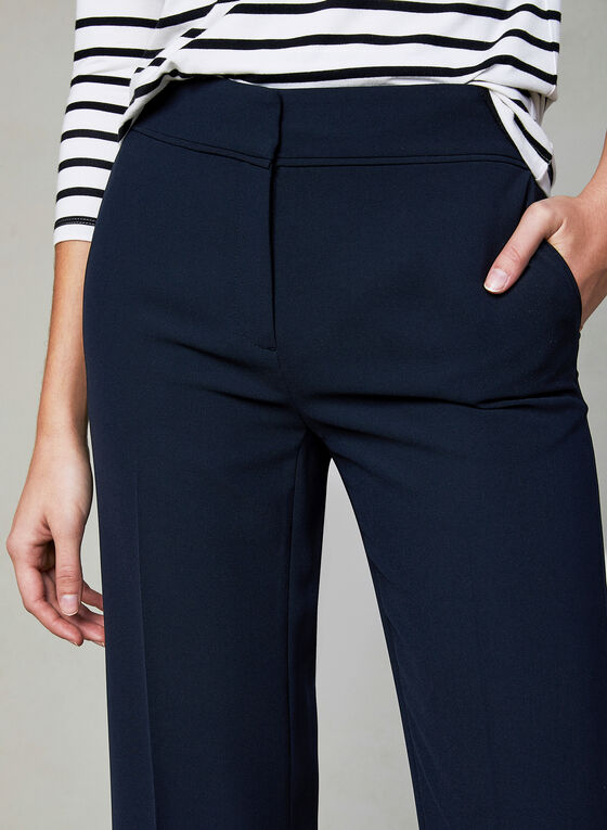 Pantalon Soho à jambe large, Bleu, hi-res