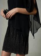 BA Nites - Robe poncho à billes, Noir, hi-res