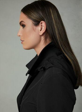 Novelti - Manteau trench avec ceinture , Noir, hi-res