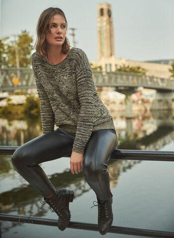 Vegan Leather Leggings, Black,  leggings, vegan leather, pull on, faux leather, slim leg, fall winter 2020