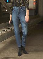 Joseph Ribkoff - Embellished Straight Leg Jeans, Blue
