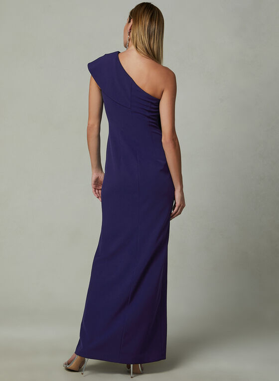 Vince Camuto - One Shoulder Gown, Blue, hi-res