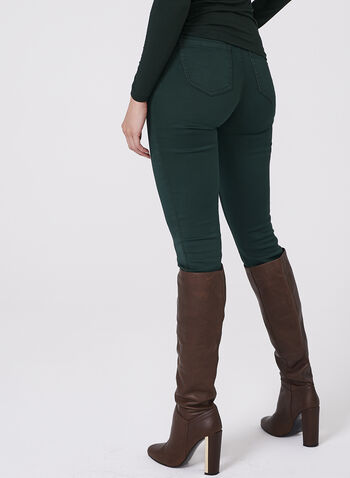 Super Soft Slim Leg Jeans, Green, hi-res