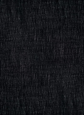 Foulard effrangé à clous, Noir, hi-res