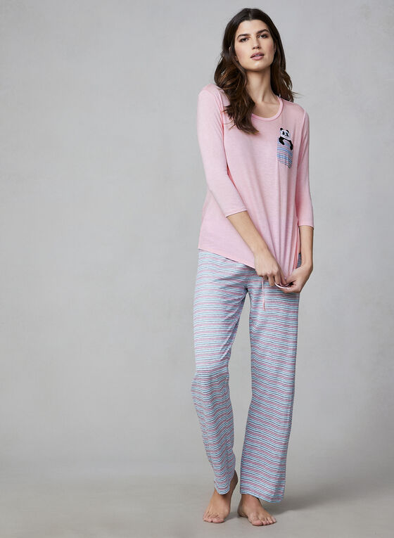 Pillow Talk - Two-Piece Pyjama Set, Pink