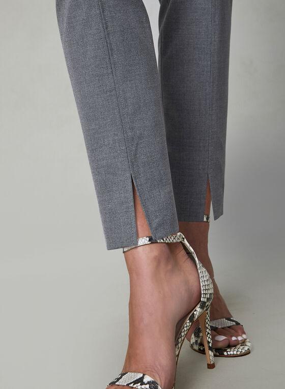 Pantalon Amber pull-on à jambe étroite , Gris, hi-res