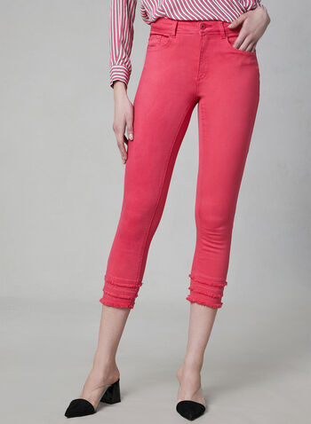 Charlie B - Capri Jeans, Pink, hi-res,  Charlie B, capri pants, jeans, spring 2019
