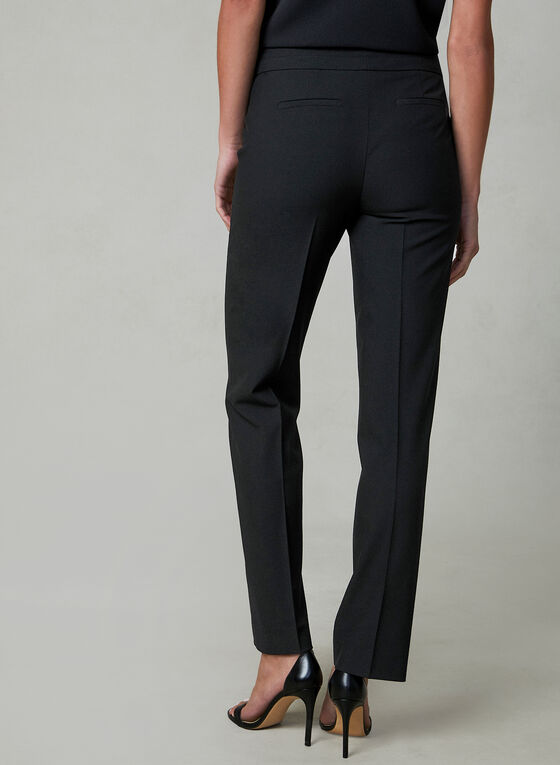 Petite Lauren Fit Pants, Black