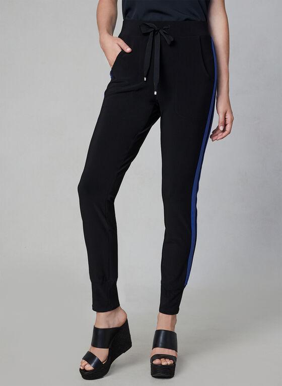 Athletic Pull On Pants, Black