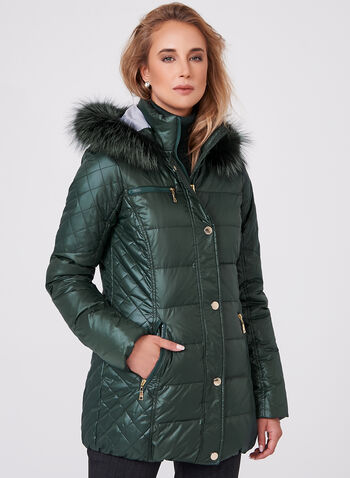 Nuage - Diamond Quilted Down Coat, , hi-res