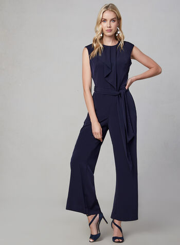 Maggy London - Wide Leg Jumpsuit, Blue, hi-res,  fall winter 2019, jumpsuit, wide leg