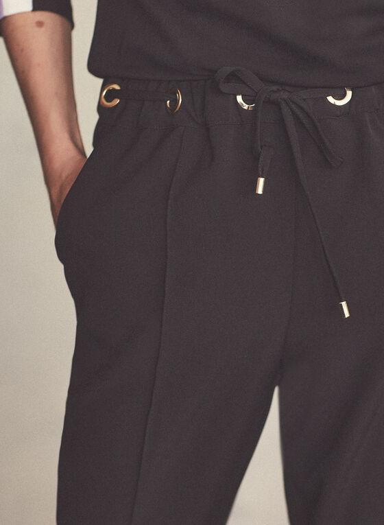 Emma Fit Straight Leg Pants, Black
