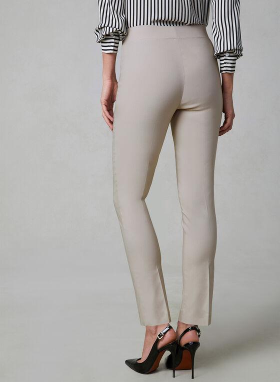 Slim Leg Ultra Tech Pants, Off White, hi-res