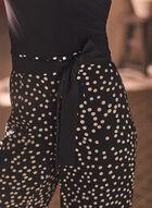 Joseph Ribkoff - Pantalon palazzo à motif pois, Noir