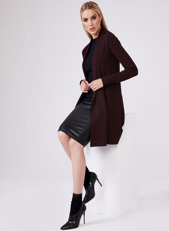 Sleeveless Knit Top, Black, hi-res