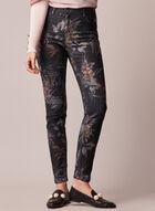 Reversible Slim Leg Jeans, Black