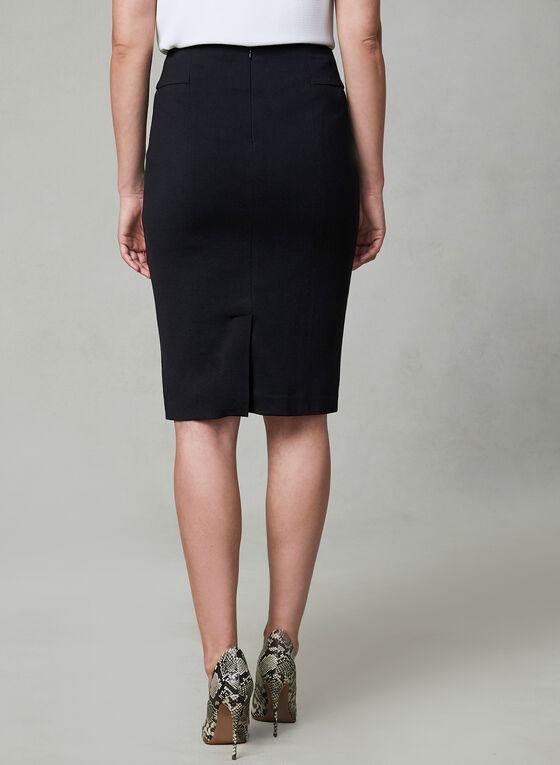 Madison Pencil Skirt, Black, hi-res