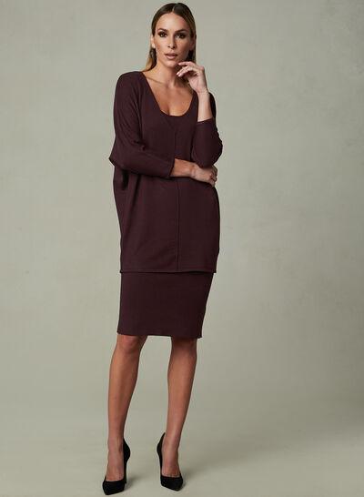 Linea Domani - Knit Dress & Sweater Set