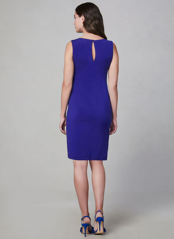 Kensie - Sleeveless Jersey Dress, Blue, hi-res