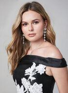 Terani Couture – Satin Twill Ball Gown, Black, hi-res