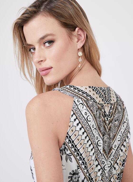 Sandra Darren - Embellished Neckline Maxi Dress, Black, hi-res