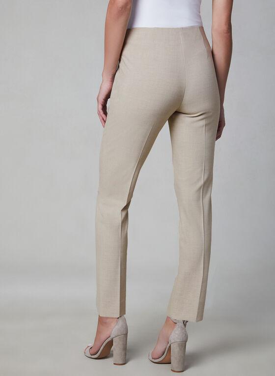 Pantalon Amber pull-on à jambe étroite , Blanc cassé
